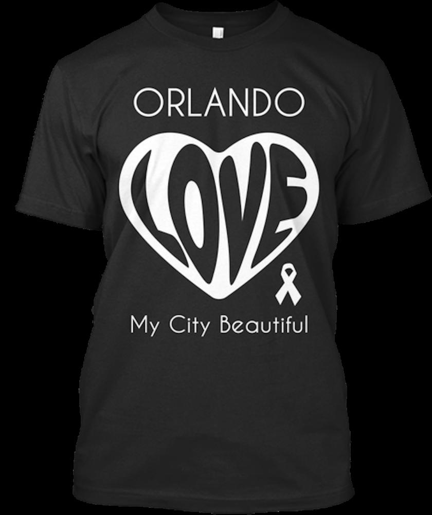 Love Orlando tee, $22.99, at teespring.com.