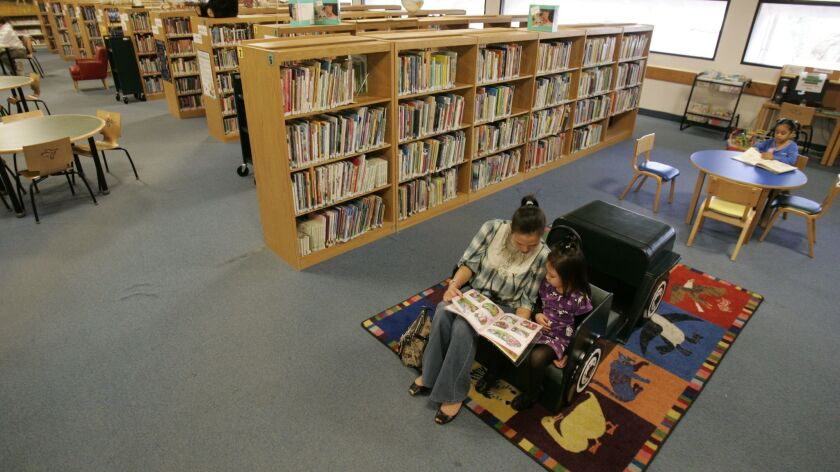The Escondido Public Library is now being managed by a private company.