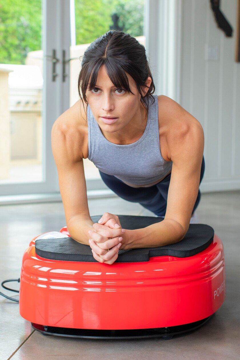 The Powerplate Move is easy to use, adjusts intensities smoothly, and has an app offering guidance and classes.