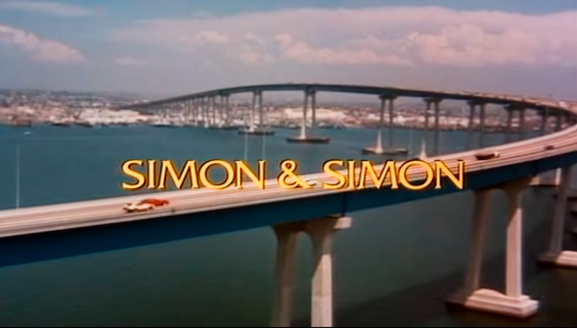 From the Simon & Simon television show opening.
