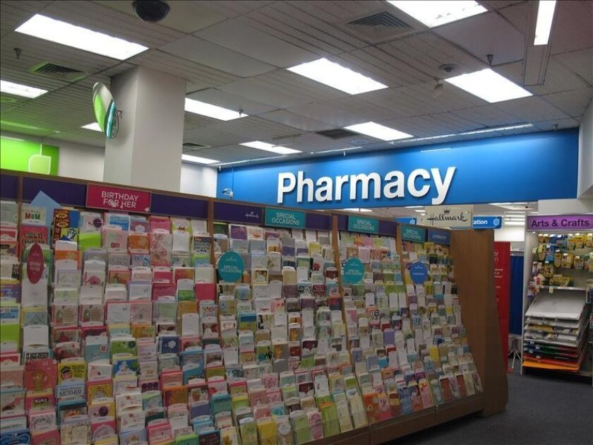 Vista del interior de una farmacia en Nueva York. EFE/Archivo