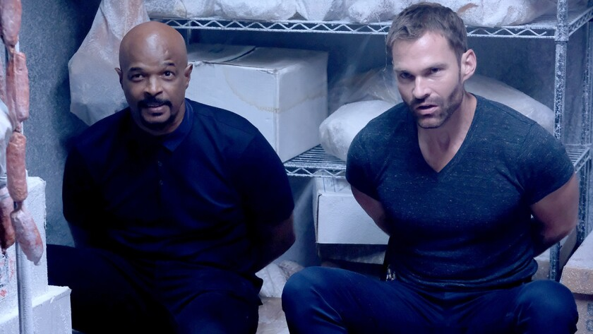 "Damon Wayans and Seann William Scott in ""Lethal Weapon"" on Fox."