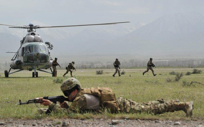 Russia military exercises