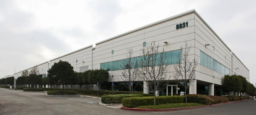 Flanders Corp. occupied nearly 80,000 square feet at 8851 Kerns St. in Otay Mesa, one of the standouts in the first quarter 2013 industrial leasing market.