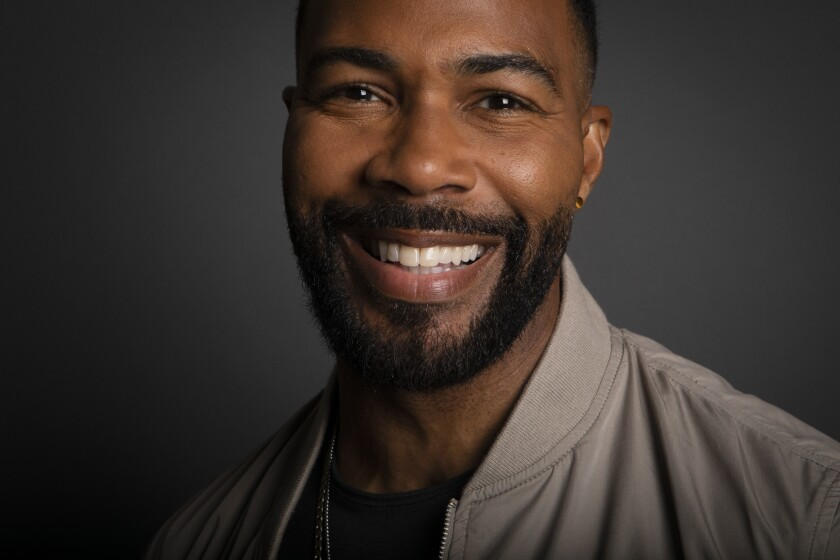 "Omari Hardwick, of Starz's ""Power"""