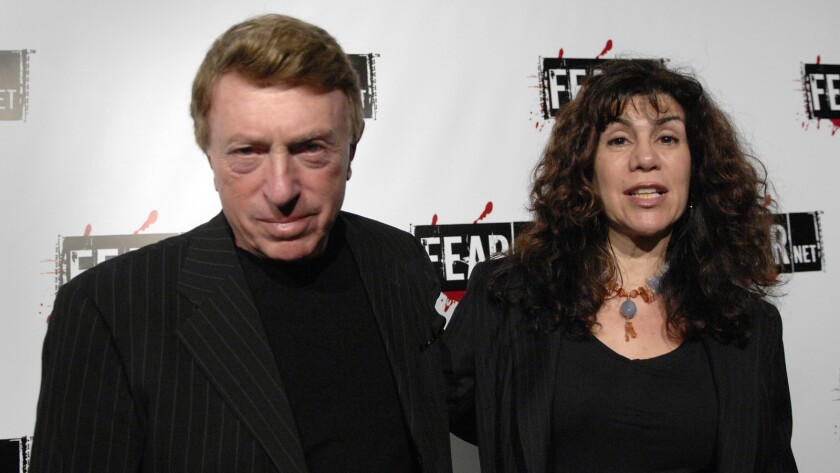 Filmmaker Larry Cohen and his wife, Cynthia Cohen