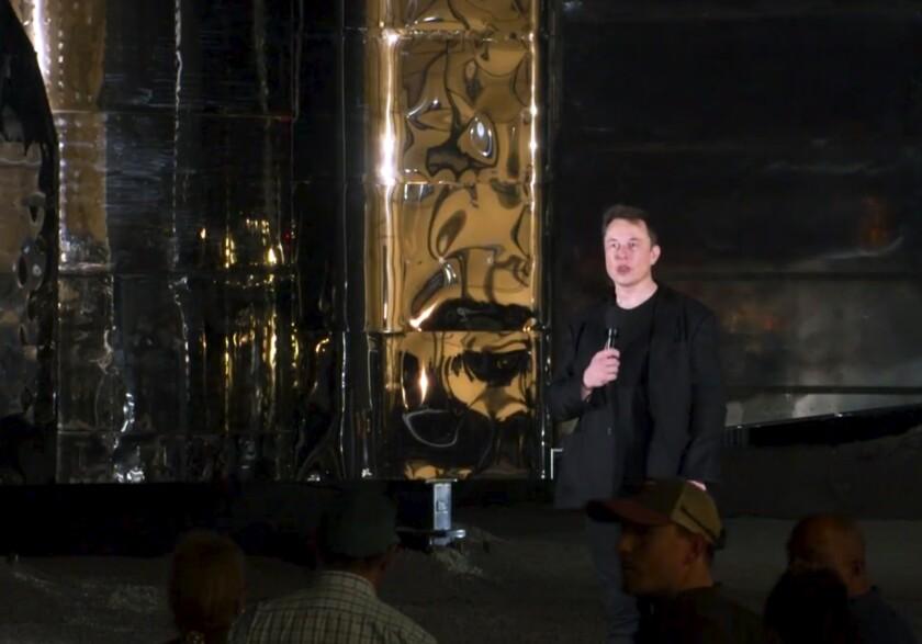 Spacecraft Unveiled Musk