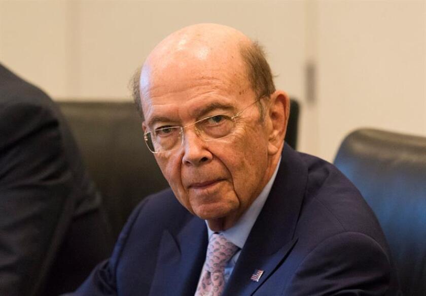 El secretario de Comercio Wilbur Ross. EFE/Archivo