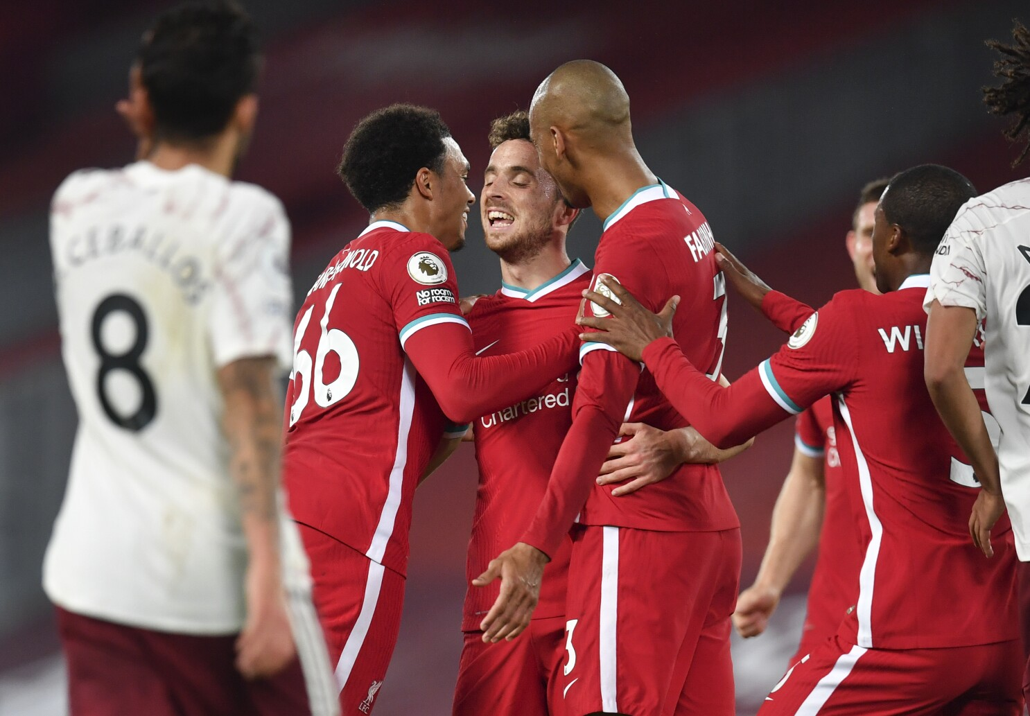 13++ Jota Liverpool Jersey