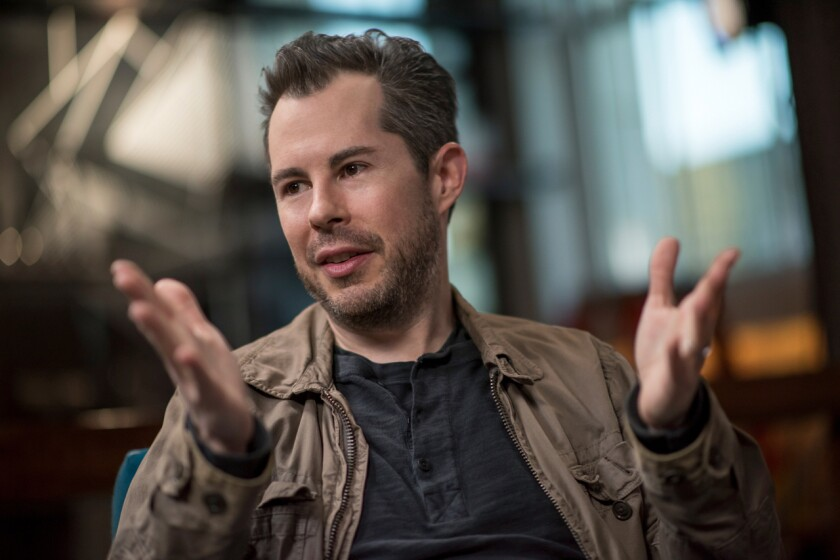 Bill Maris, founder of venture fund Section 32 and former chief executive officer of GV, formerly Google Ventures, speaks during an interview in San Francisco in 2016.