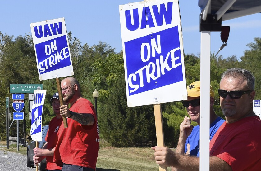 General Motors-UAW Strike