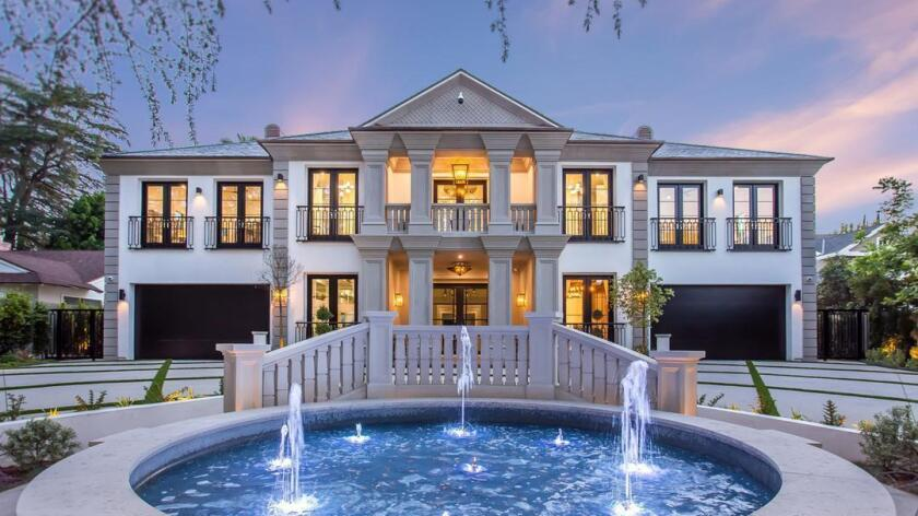 A year after spending $10.65 million on a Neoclassical mansion, Jimmy Rollins is looking to sell the Encino home for $11.99 million.