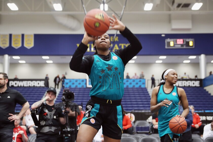 Charisma Osborne is one of two incoming McDonald's All-Americans for UCLA.