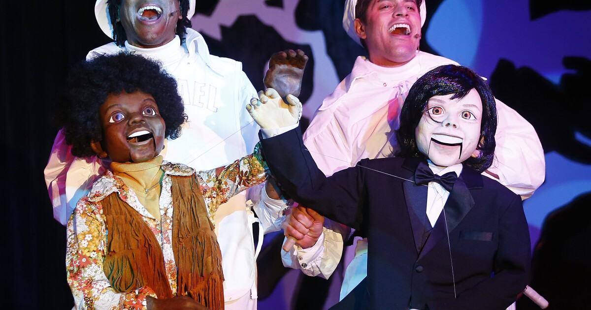 michael jackson as musical parody it s for the love of a glove los angeles times michael jackson as musical parody it s