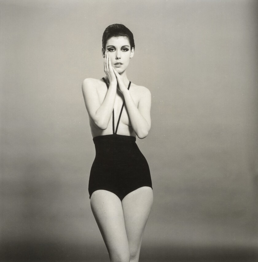Peggy Moffitt in the Gernreich-designed monokini, 1964. A look at designer Rudi Gernreich (1922-1985