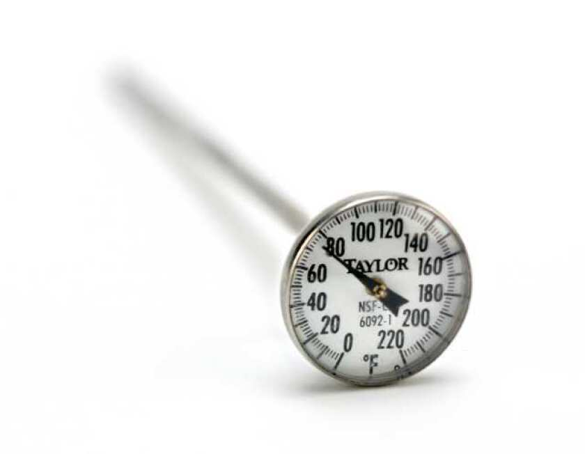 Test Kitchen tips: Calibrating your thermometer - Los ...