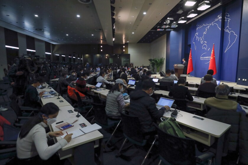 China US Journalists Expelled