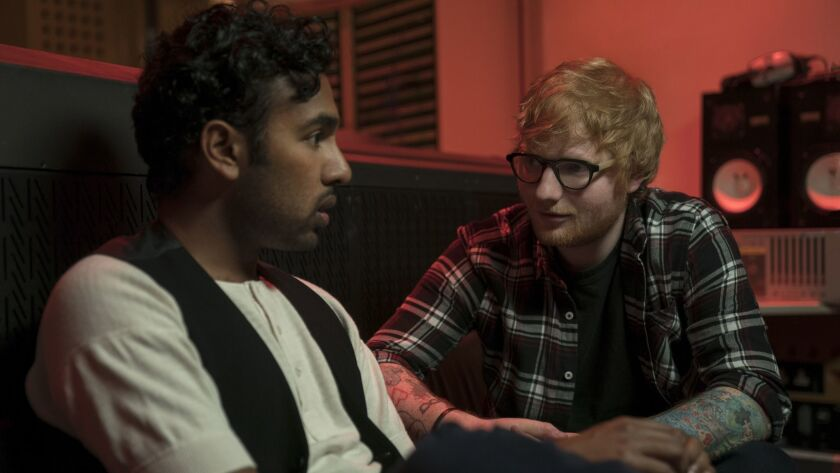 ***SUMMER SNEAKS 2019--Jack Malik (Himesh Patel) gets a major career boost from Ed Sheeran (playing