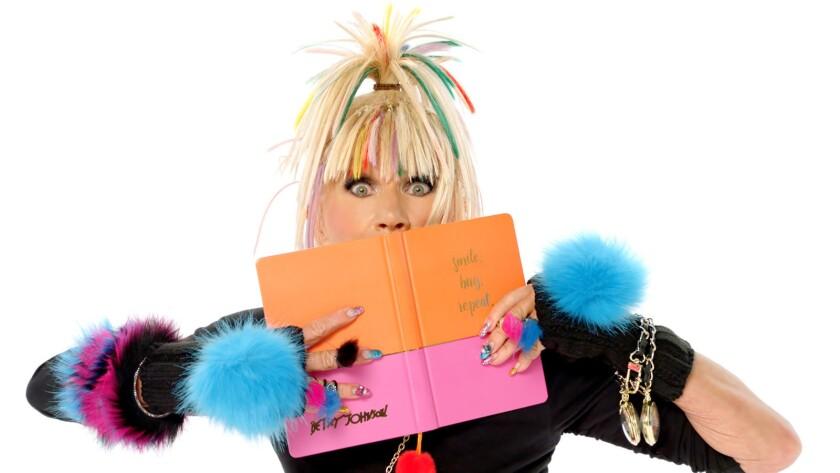 Fashion designer Betsey Johnson.