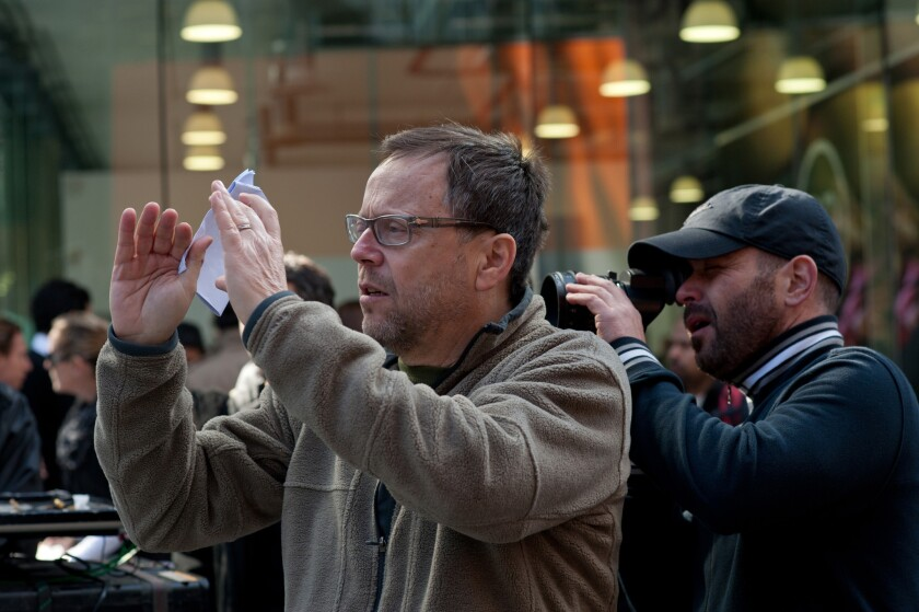 """Fernando Meirelles, best known for his film """"City of God,"""" is seen here directing his film """"360."""""""