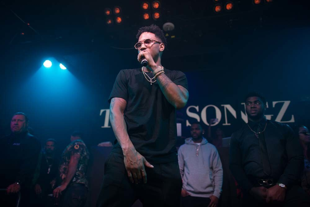 San Diego turned out to see Trey Songz at Fluxx nightclub on Sunday, Feb. 18, 2018.