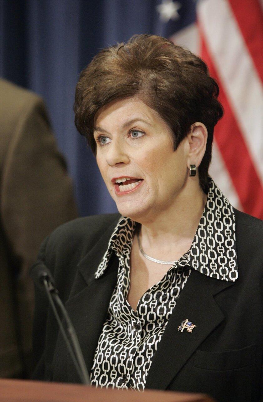 Bonnie Dumanis took office in 2003.