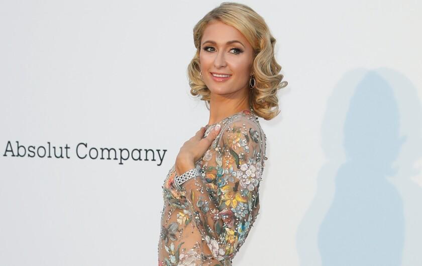 En la imagen, la empresaria estadounidense Paris Hilton.