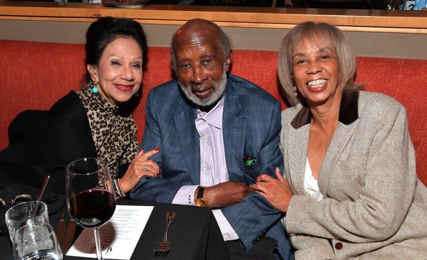 Jacqueline Avant, Clarence Avant and Gail Mitchell