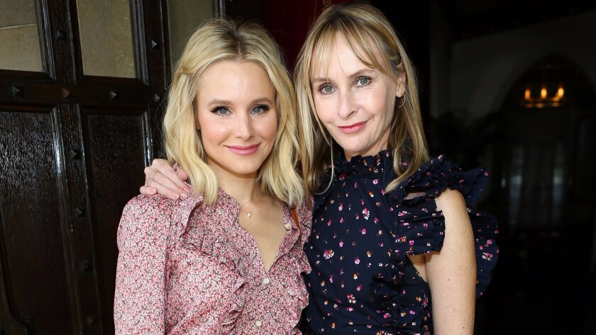 Kristen Bell and Rebecca Taylor