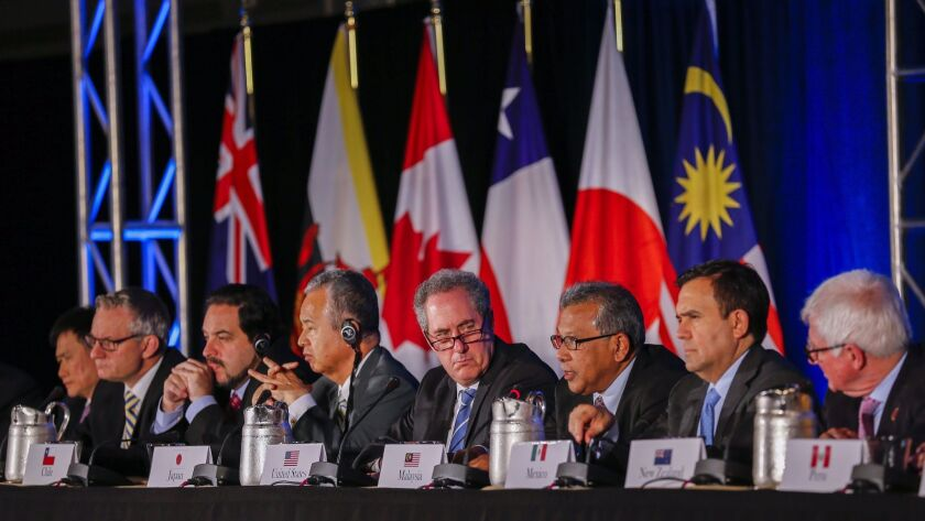 The twelve-nation Trans-Pacific Partnership trade pact is finalized