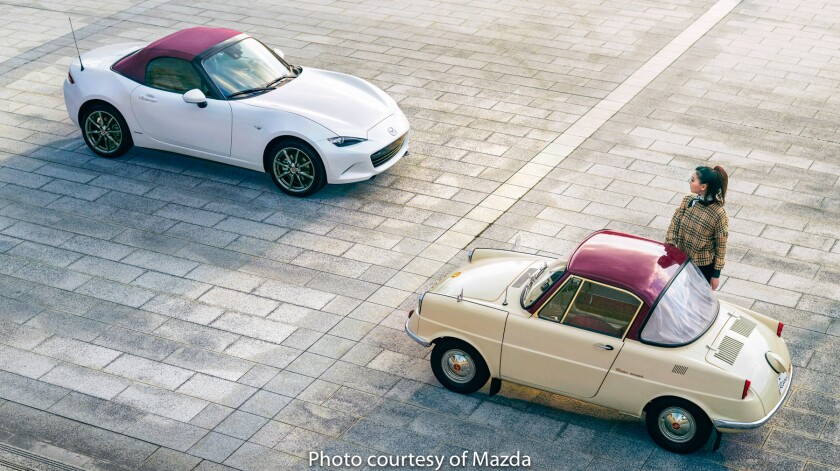 Mazda celebrates its 100th anniversary