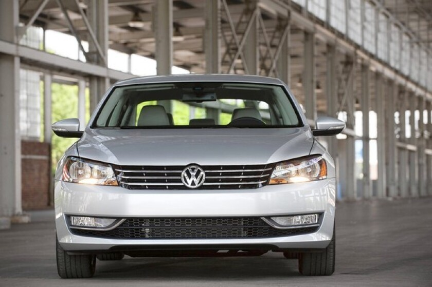 It may not take long for owners of the 2012 Volkswagen Passat to tire of its unoriginal design.
