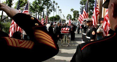 Marine Cpl. Miguel Guzman's funeral