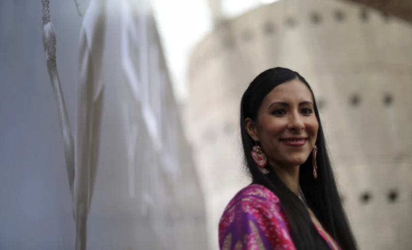 La bailarina mexicana Elisa Carrillo
