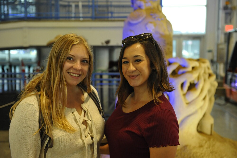 Guests at the U.S. Sand Sculpting Challenge preview party got to get a sneak peak at the sandy works of art in progress at Broadway Pier on Friday, Aug. 31, 2018.