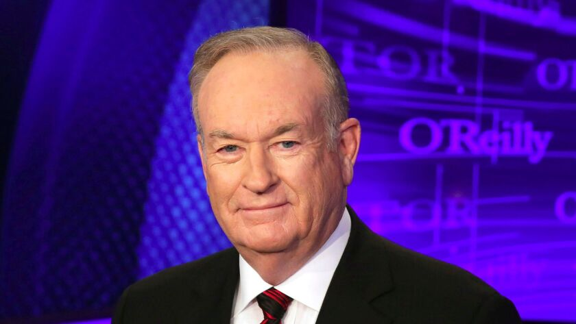 """FILE - In this Oct. 1, 2015 file photo, Bill O'Reilly of the Fox News Channel program """"The O'Reilly"""