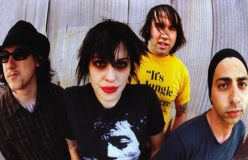 The Distillers.