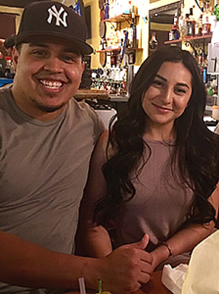 Jonathon Reynoso and Audrey Moran in an undated photo. The couple went missing in 2017.