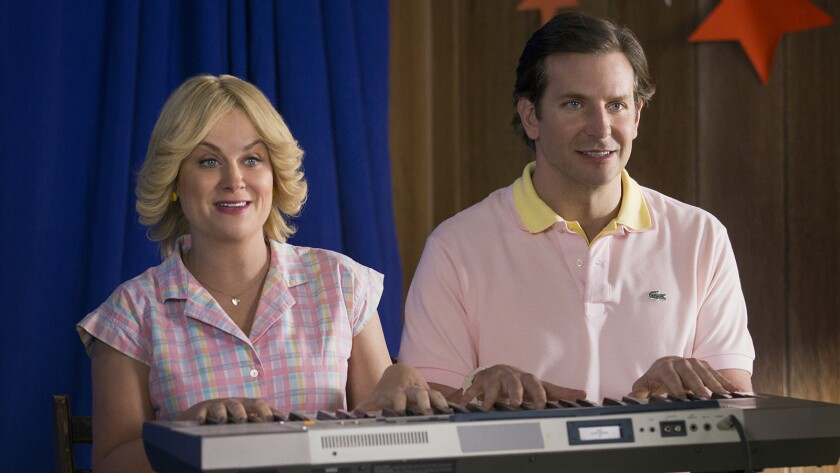 """Amy Poehler and Bradley Cooper in """"Wet Hot American Summer: First Day Of Camp"""""""