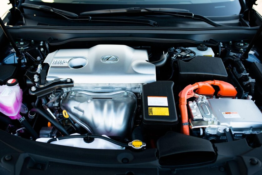 The electrified four-cylinder performance has the force of a V-6 and is quite assertive in sport mode.