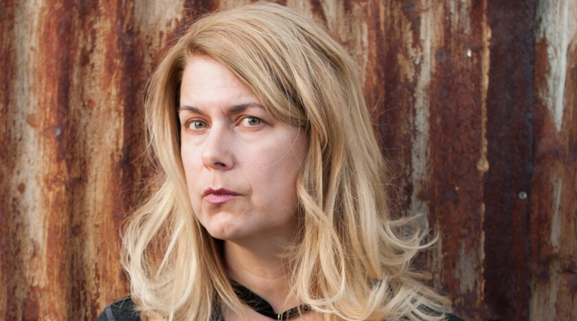 """An author photo of Lydia Millet for her book """"Fight No More."""" Credit: Jade Beall"""