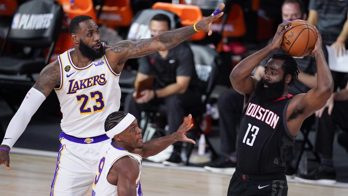 Five takeaways from the Lakers' Game 3 win over the Rockets - Los Angeles  Times