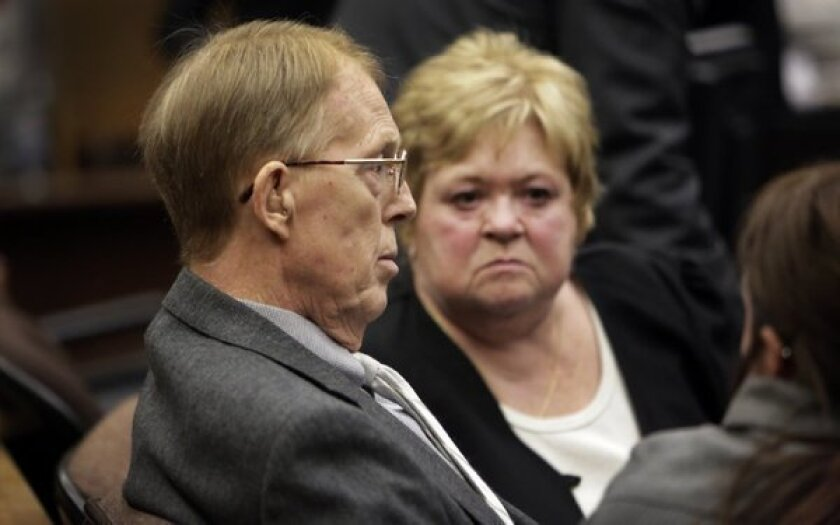 Retired prison guard Loren Kransky, 65, left, sued Johnson & Johnson's DePuy orthopedic unit and claimed he was injured by a defective artificial hip that was recalled by the company in 2010.