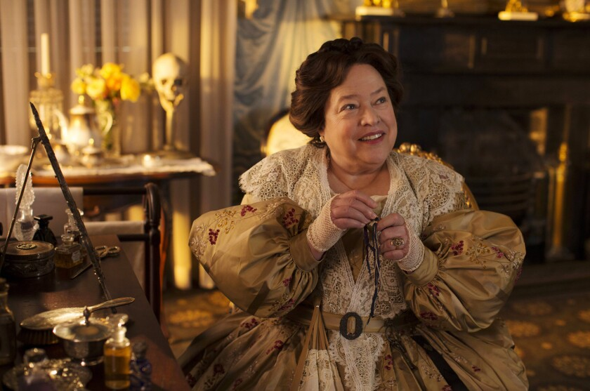 Kathy Bates on 'American Horror Story: Coven.'