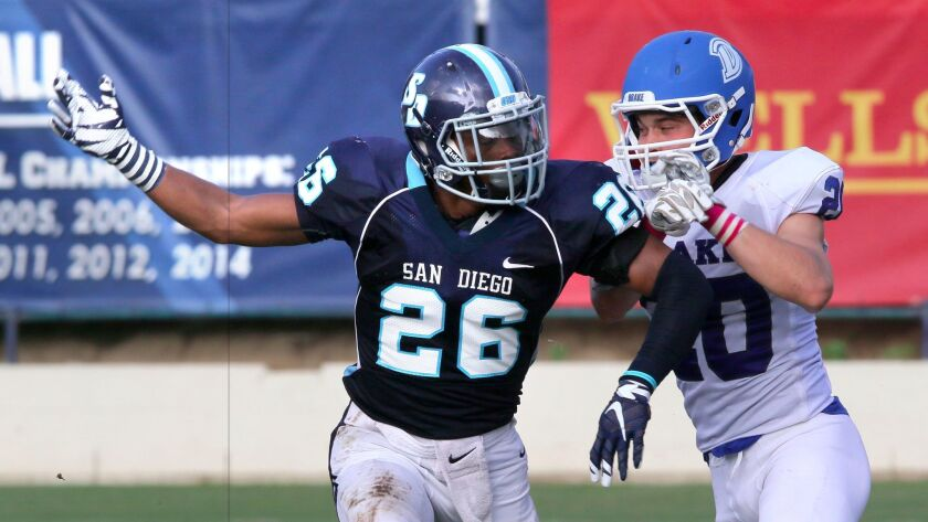 USD senior cornerback Jamal Agnew was a two-time team Defensive MVP for the Toreros who earned first team all-Pioneer Football League honors last season.