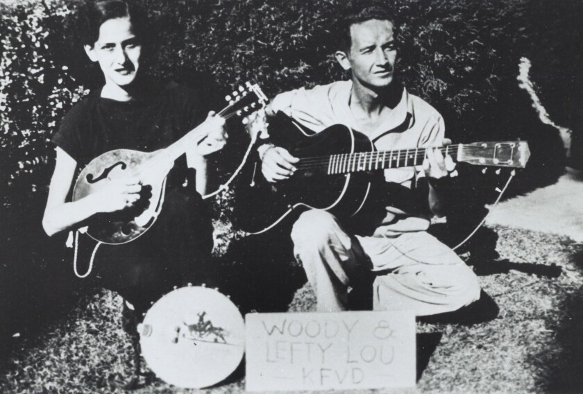 How Woody Guthrie S Time In L A Radicalized Him When He Wasn T Drawing Cartoons Los Angeles Times