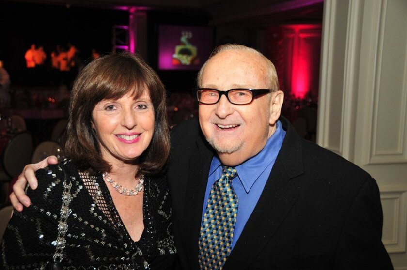 """Carol and Jack Clark: """"We decided we wanted to make a difference. San Diego Center for Children stood out for us."""" Courtesy photo"""