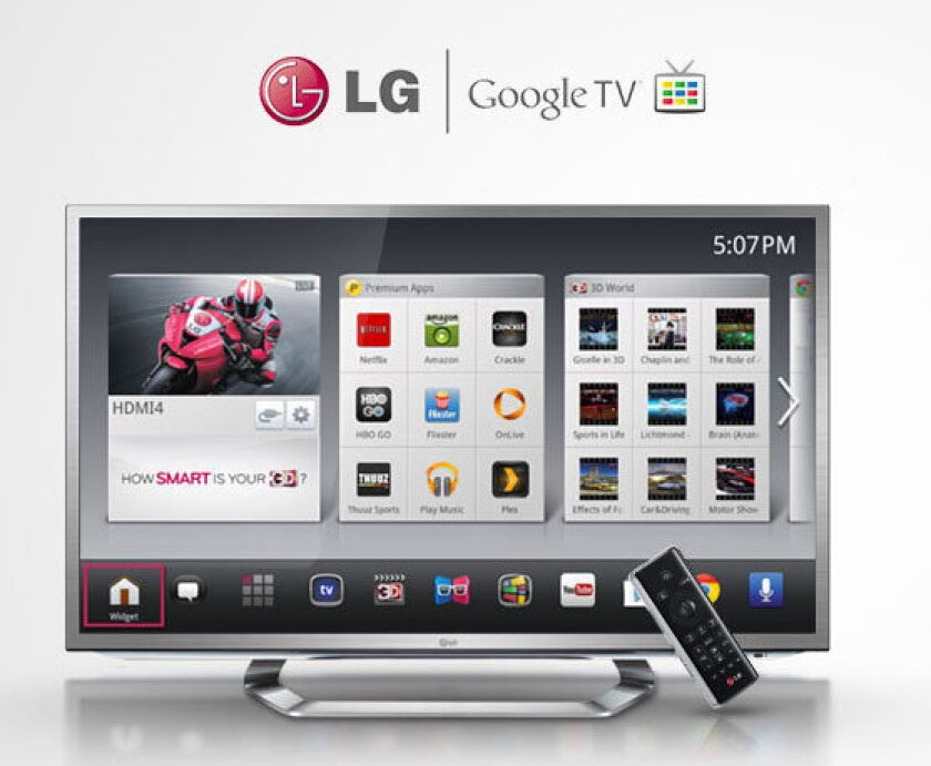Electronics manufacturer LG announced two new TV models that will feature Google TV. The models will debut next month at the Consumer Electronics Show in Las Vegas.