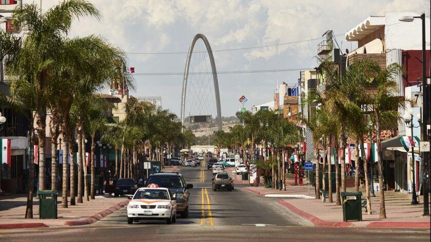 Avenida Revolución (La Revu) is Downtown Tijuana's main drag. Tijuana Visitors Bureau photo