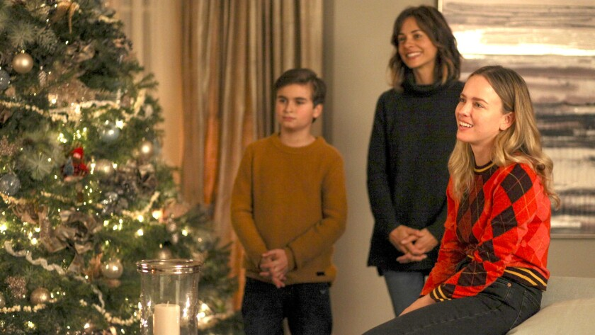 """Chance Hurstfield, left, Stephanie Szostak andAllison Miller in """"A Million Little Things"""" on ABC."""""""